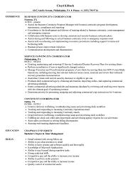 Continuity Coordinator Resume Samples Velvet Jobs