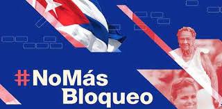 Resultado de imagem para #NoMasBloqueo Cuba