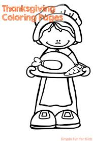 Kids who color generally acquire and use knowledge more efficiently and effectively. Thanksgiving Coloring Pages Simple Fun For Kids