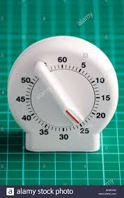 Set Timer Five Minutes A Clockwork Kitchen Timer Set For A Period Of Twenty Five Minutes