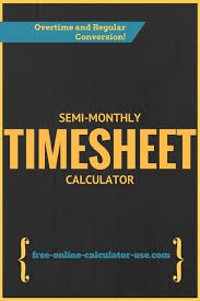 Online Timesheet Calculator With Lunch Break Free Miracle Salad