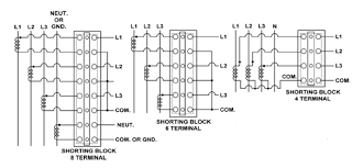 phase current transformer wiring diagram image current transformers potential transformers shorting blocks and on 3 phase current transformer wiring diagram