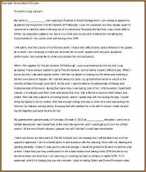40 Academic Appeal Letter Discover China Townsf Inspiration Academic Appeal Letter