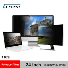 24 inch Privacy Filter Screen Protective film for 16:9 Widescreen Computer  20 7/8