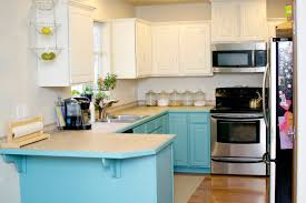 diy kitchen cabinet paintingKitchen  DIY Kitchen Cabinets Chalk Paint White And Blue Cabinet