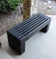 garden bench plans woodworking. outdoor wood bench plans | modern slat top adhd/autism pinterest bench, and garden woodworking