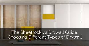 the sheetrock vs drywall guide