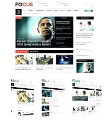 Newspaper Website Template Free Download Online News Website Template Free Positive Is Clean