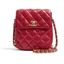 Chanel Vintage Red Leather Quilted Chanel Shoulder Bag - Polyvore & Chanel Vintage Red Leather Quilted Chanel Shoulder Bag Adamdwight.com