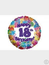 18th birthday balloon