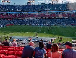 Tennessee Titans Stadium Virtual Seating Chart Nissan Stadium Section 211 Seat Views Seatgeek