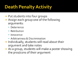 ppt the death penalty powerpoint presentation id
