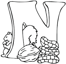 coloring pages letter n coloring pages people sheet the d color