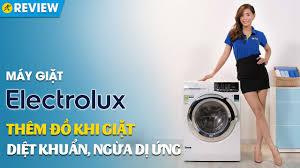 Máy giặt Electrolux 9kg: giặt hơi nước, giặt nước nóng diệt khuẩn  (EWF9025BQWA) • Điện máy XANH - YouTube