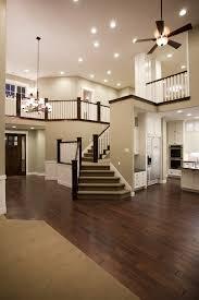 open second floor