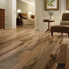 this brazilian pecan hardwood floor allows for amazing color variation