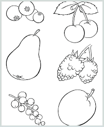Healthy Foods Coloring Pages Theaniyagroupcom