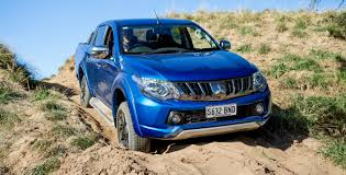 2018 mitsubishi pickup. contemporary pickup remember on my last ute test of the new hilux i wasnu0027t happy with its  u201cmooseu201d ability at 80kmh did a simple swerve and recover it took ages for  in 2018 mitsubishi pickup o