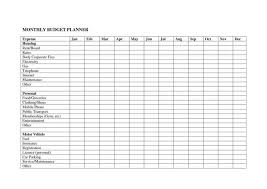 Personal Monthly Budget Spreadsheet Sample Monthly Budget Worksheet Worksheets Personal Simple