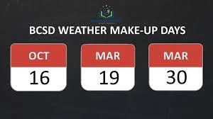 hurricane make up days cms cms snow makeup daysgreenville