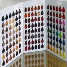 Hair Color Chart Global Sources
