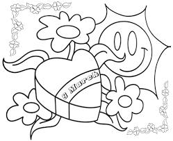 Tô Màu Ngày Quốc Tế Phụ Nữ 8-3 - Tranh Tô Màu Cho Bé