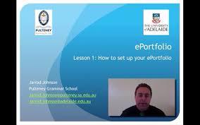 Eportfolio Lesson 1 How To Set Up Your Eportfolio Youtube
