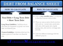 Ratios In Balance Sheet How To Calculate Debt From Balance Sheet