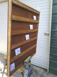 custom made solid wooden cd display rack