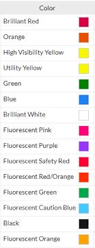 Krylon Color Chart Krylon Inverted Marking Paint Pallet 36 Cases Survey Supply