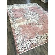 fine antique color variations hand knotted turkish rug 9