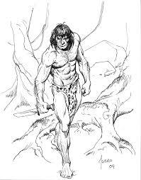 Tarzan Esboço Con Por Joejusko On