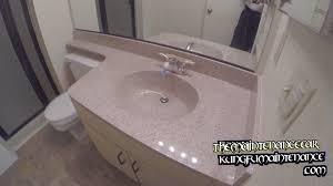 Refinish Bathroom Countertop How To Minimize Paint Smell Plastic Odor Reglaze Multispec Tub