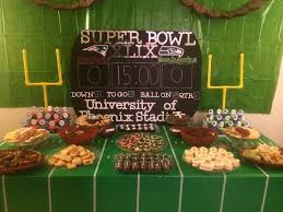 Super Bowl Party Decorating Ideas Manic Mama Miles Super Bowl Football Party Decorations 12