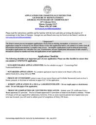 state of michigan cosmetology forms