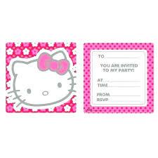 Hello Kitty Invitation Printable Hello Kitty Invitations Free Download Lovely Hello Kitty Invitation