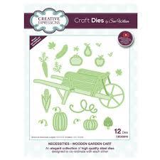 sue wilson necessities collection wooden garden cart craft s