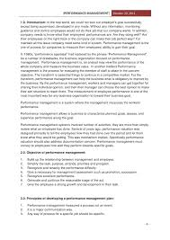 assignment on performance management performance management