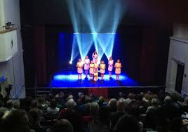 27th october 2016 playing to full houses in both the matinee and evening performances gcsl provided stage lighting for the three and quarter hour long