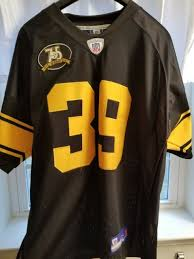 Jersey Pittsburgh Anniversary Steelers Patch 75th
