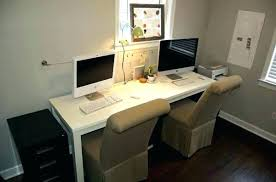 office desk for two.  For Two Person Home Office Desk 2 New Computer  Wonderful For Pertaining To   Intended Office Desk For Two I