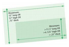 Eddm Size Chart Every Door Direct Mail And Eddm Retail Dimensions And