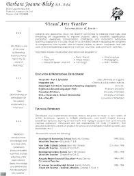 Experienced Teacher Resume Elementary Teachers Resume Samples