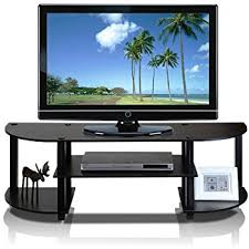 tv entertainment center. furinno 11058ex/bk turn-s-tube wide tv entertainment center, espresso/ tv center