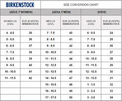 Birkenstock Size Conversion Chart Birkenstock Arizona Bf White Narrow Fit Bk 01w 552683