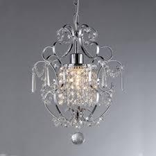 glam lighting. singlelight crystal chandelier glam lighting d