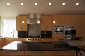 Recessed Lighting In Kitchen Kitchen Room Design Ideas Metallic Pendant Lights Kitchen
