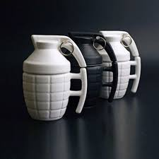 office coffee cups. Creative Grenade Coffee Mugs 2017 New Ceramic With Lid Office Cups Home Tea Milk Mug S