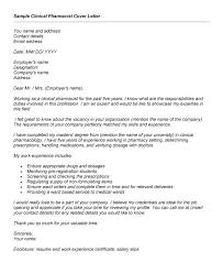 Pharmacist Cover Letter | | jvwithmenow.com
