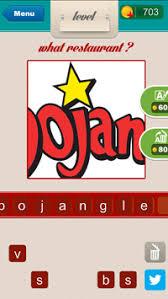 restaurant logos with ojan. Modren Ojan What Restaurant Answers Level 33 On Logos With Ojan